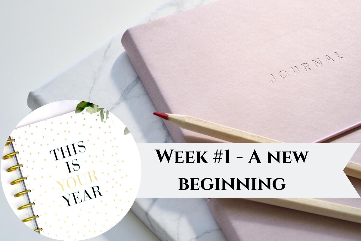 Writer's Journal - Week #1 : New Decade - New beginning